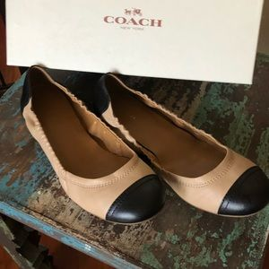 Authentic Coach Two Tone Flats